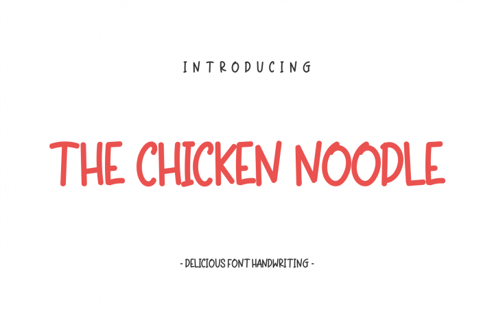 The Chicken Noodle