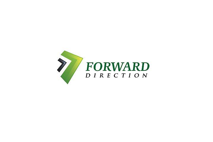 Forward Direction - Technology Logo Templates