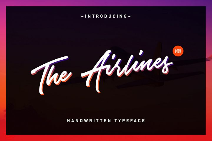 The Airlines - Free Font of The Week