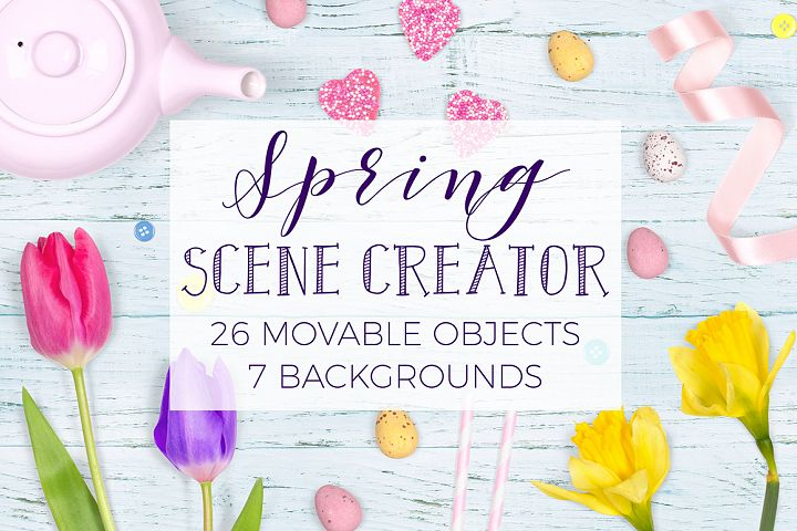Spring Scene Creator - Top View