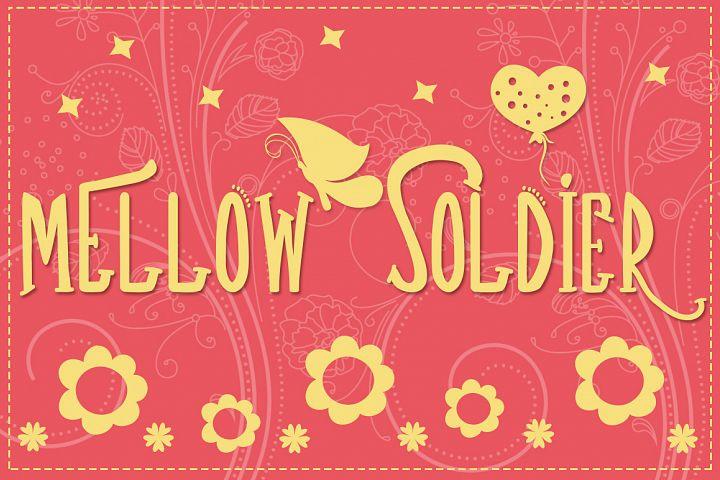 Mellow Soldier Font