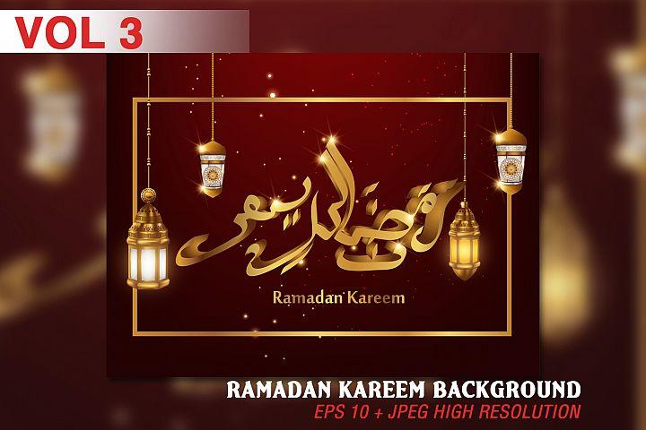 Ramadan Kareem background - VOL 3