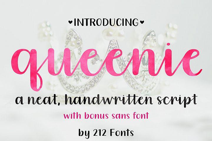 Queenie Font Family