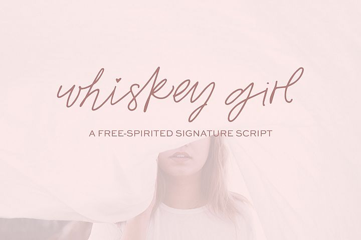 Whiskey Girl Signature Font