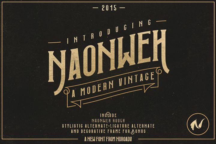 Naonweh Typeface