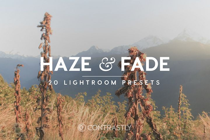 Haze Fade Lightroom Presets