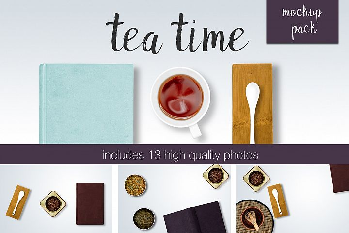 Tea Time Mockup Pack