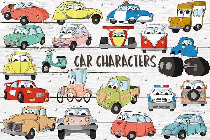 Car Characters