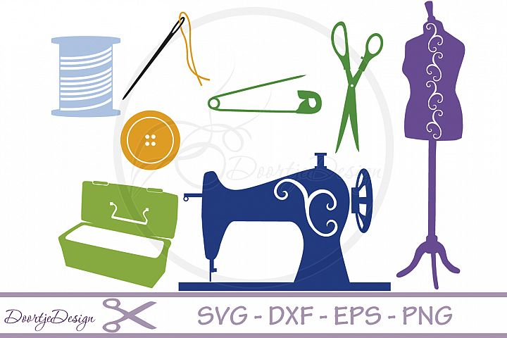 SVG files Sewing Hobby
