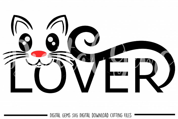 Cat SVG / PNG / EPS / DXF files