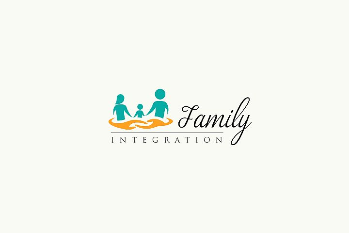 Family Integration - logo Template