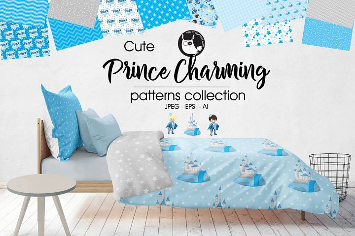 PRINCES-CHARMING, digital papers