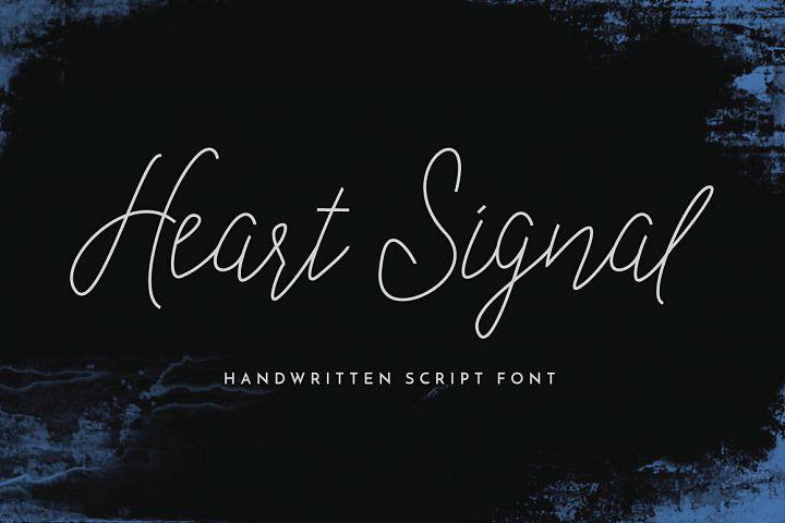 Heart Signal Typeface
