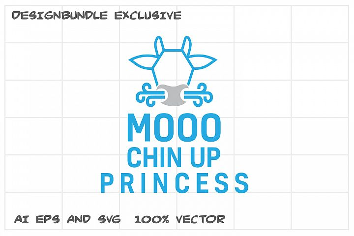 Cow Moo Vector Graphic