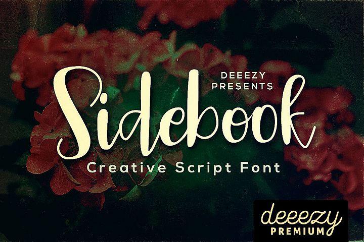 Sidebook Script Font