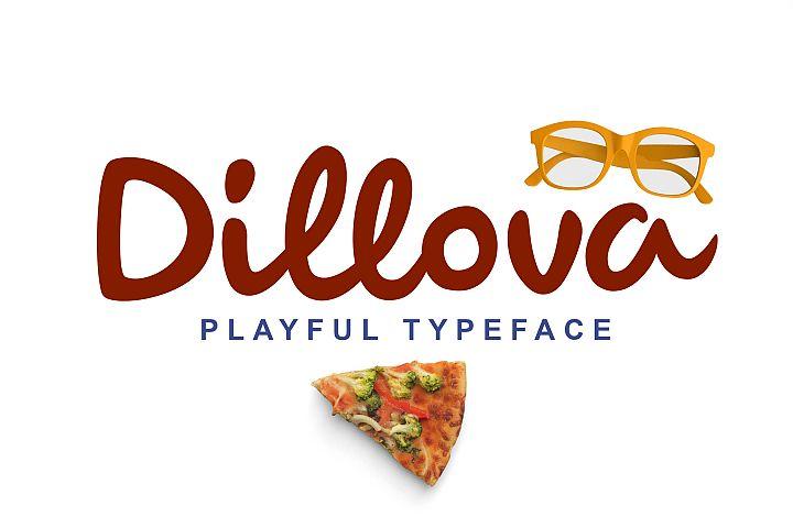 Dillova Playful Script