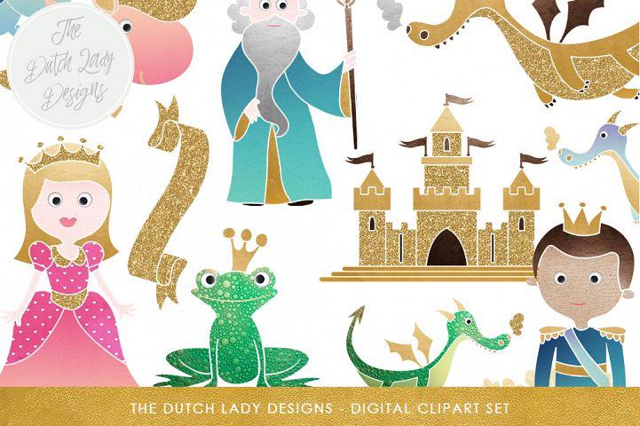 Fairytale Fantasy Clipart Set