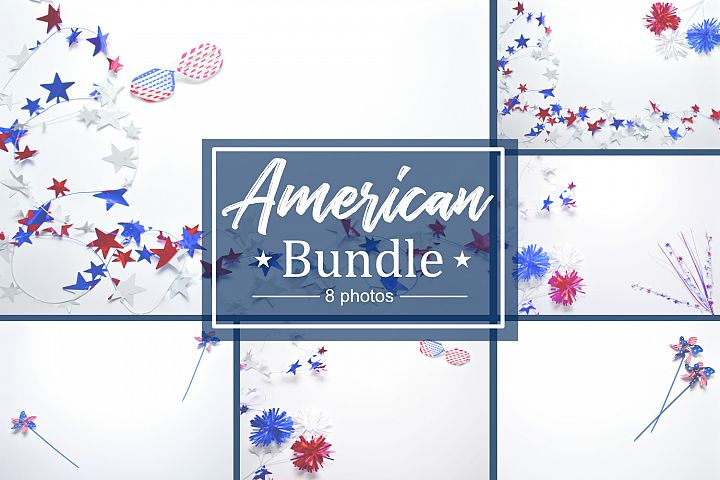 American Lay Flat Style Photo Bundle