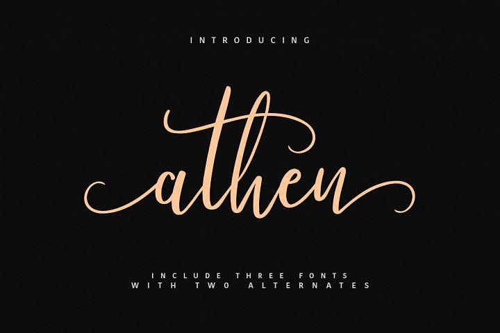 Athen Typeface