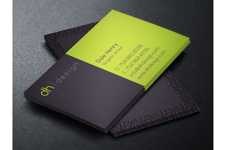 Designer Business Card Template example 2