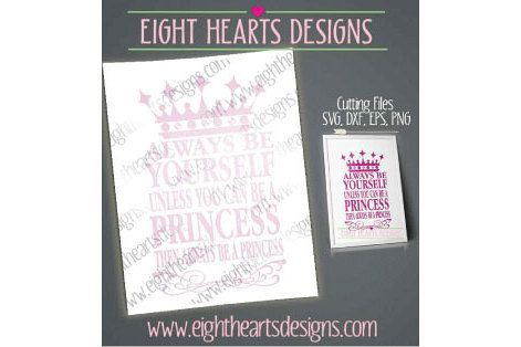 Always Be Yourself - SVG EPS DXF series. Ideal for TShirts - Mugs - Tiles or Digital Print Art