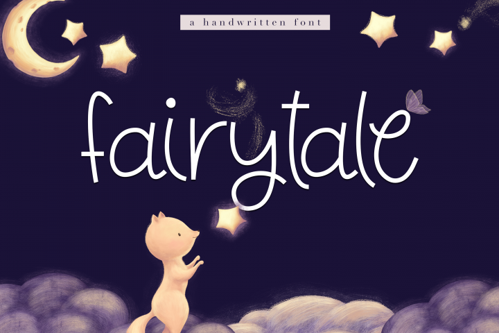 Fairytale - A Cute Handwritten Font