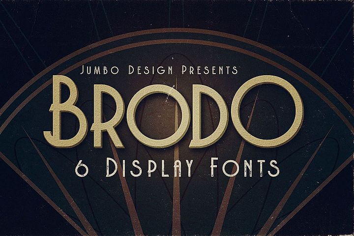 Brodo - Display Font