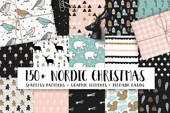150+ Nordic Christmas set