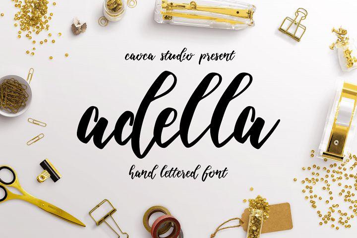 Adella Handlettered