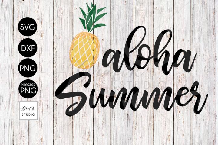 Aloha Summer Beach SVG