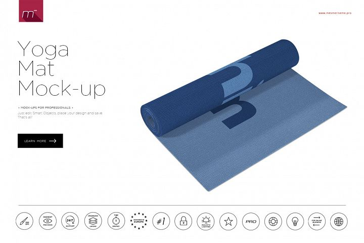 Yoga Mat Mock-up