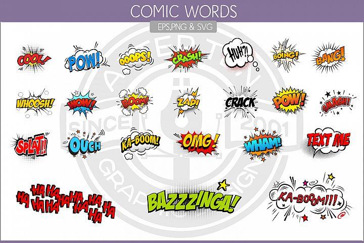 Comic Words