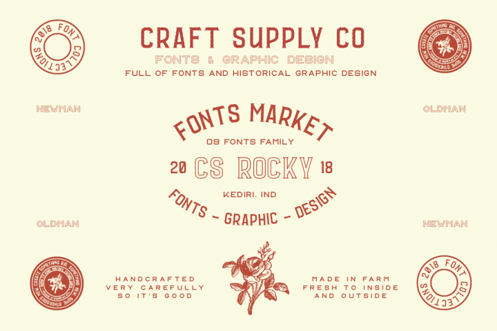 CS Rocky Font + Extras