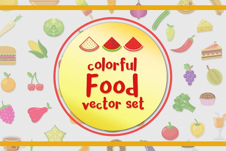 Food Vector Set - Free Design of The Week