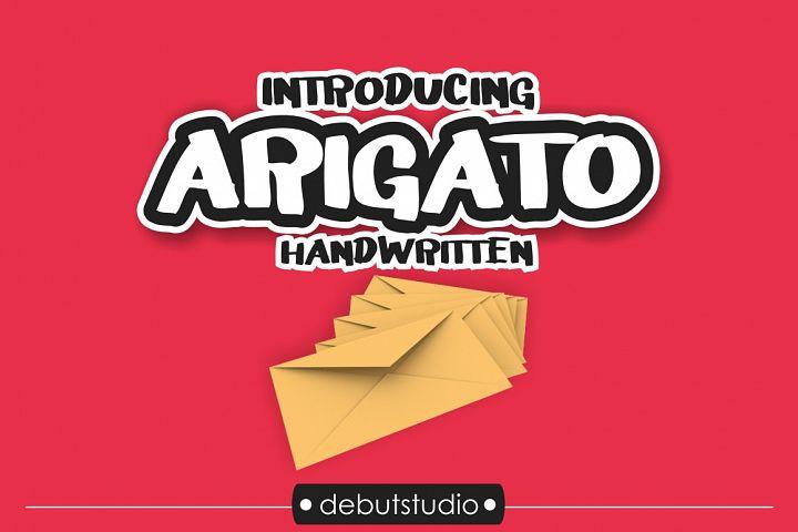 Arigato Handwritten Font