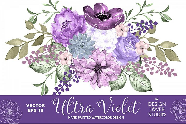 Ultra Violet design vector