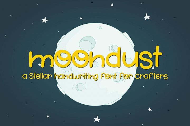 Moondust - Free Font of The Week