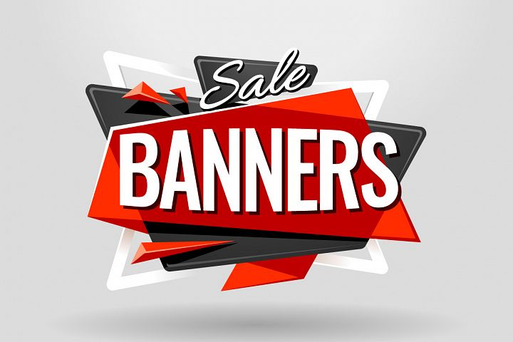 SALE BANNERS | Material Design - Free Design of The Week