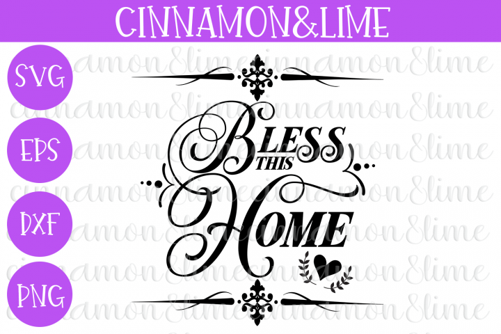 Bless This Home SVG