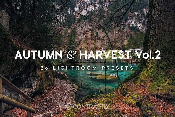 Autumn & Harvest Lightroom Presets Vol.2