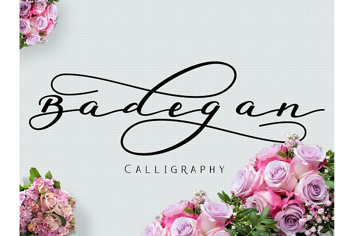 Badegan Calligraphy