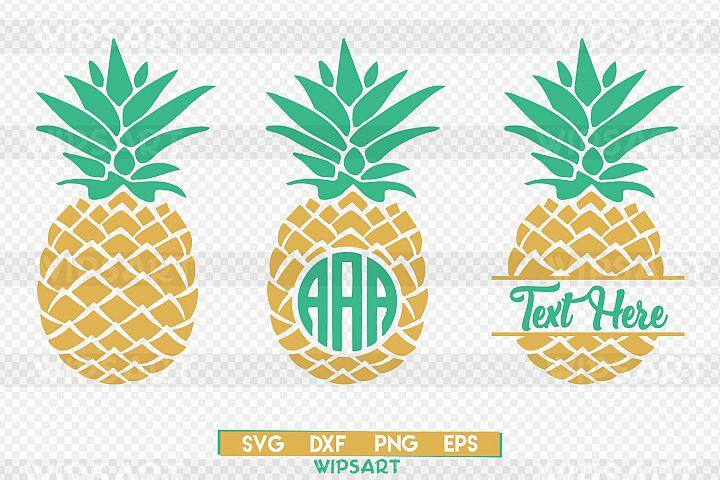 Pineapple svg, pineapple monogram svg, ananas monogram svg, pineapple silhouette png, monogram pineapple svg, pineapple png, ananas svg
