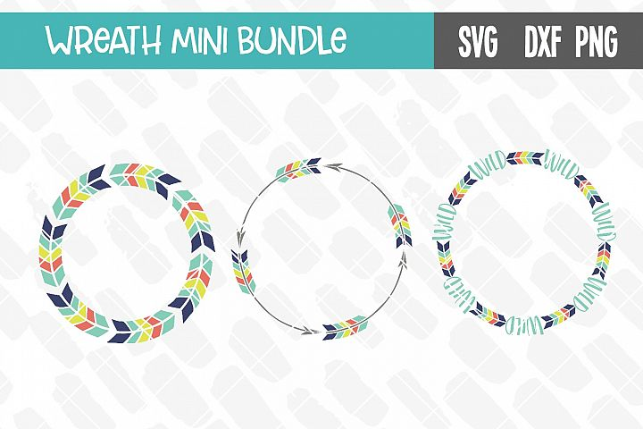 Monogram Wreath Mini Bundle