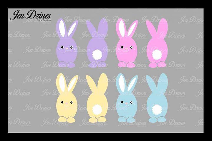 Easter Bunny Bundle SVG DXF EPS PNG