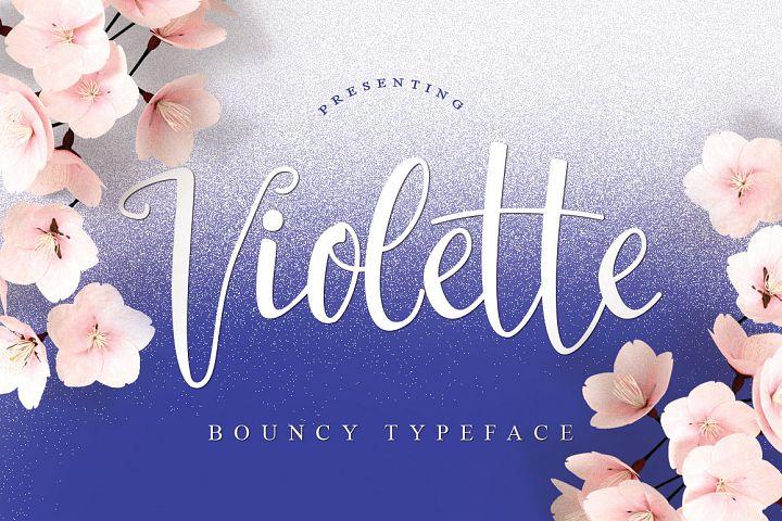 Violette Typeface