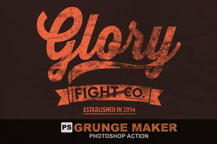 Grunge Maker Photoshop Action