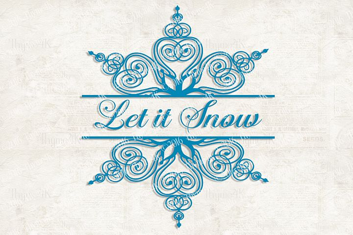 Let it Snow Digital Design