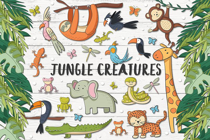 Jungle Creatures