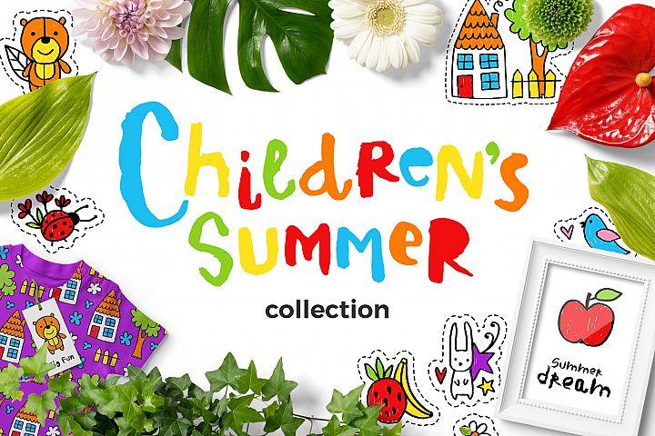 Childrens Summer - Clipart Set!