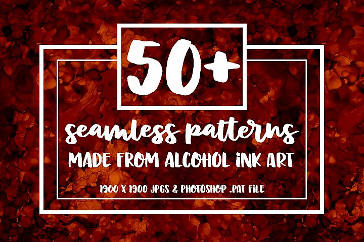 50+ Seamless Alcohol Ink Patterns